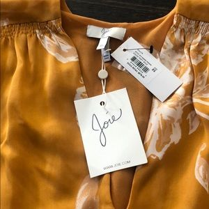 Joie Galvin blouse top XS